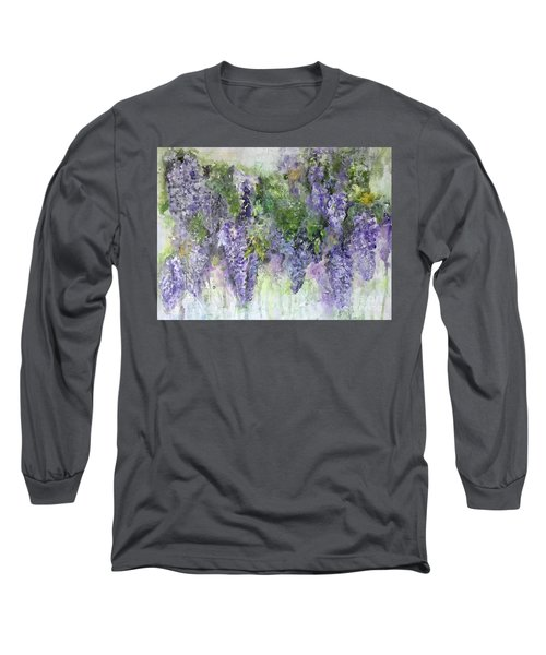 Dreams Of Wisteria Long Sleeve T-Shirt