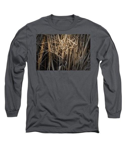 Dried Wild Grass II Long Sleeve T-Shirt
