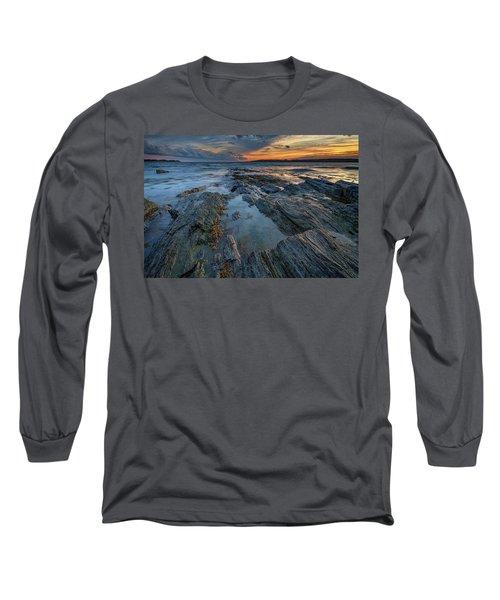 Dusk At Kettle Cove Long Sleeve T-Shirt