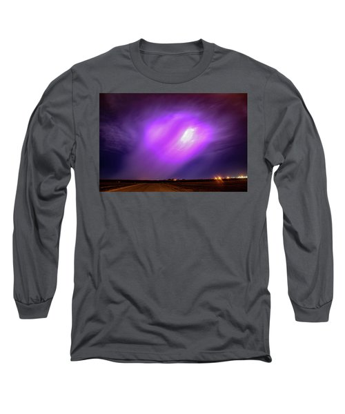 Dying Late Night Supercell 016 Long Sleeve T-Shirt