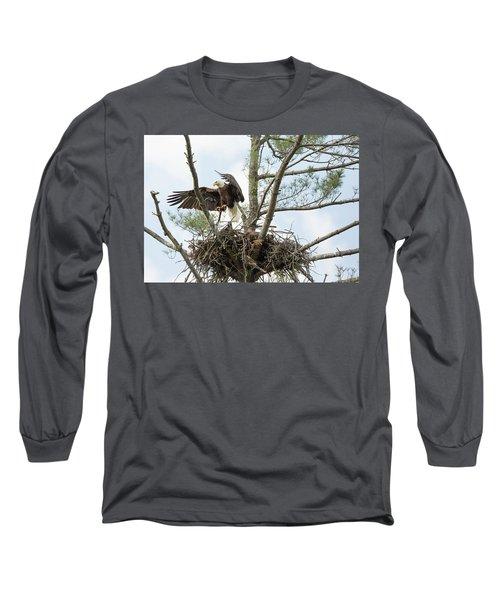 Eagle Landing Long Sleeve T-Shirt