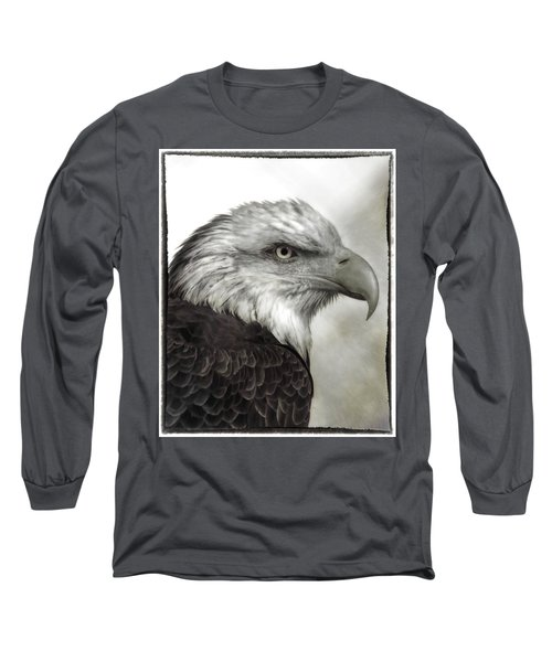 Eagle Protrait Long Sleeve T-Shirt