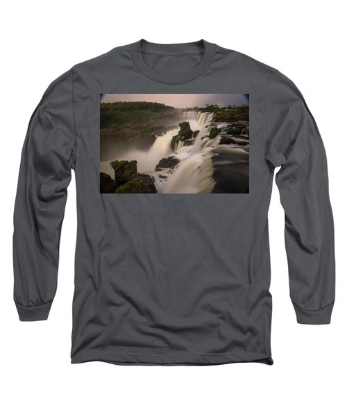 Long Sleeve T-Shirt featuring the photograph Edge Case by Alex Lapidus