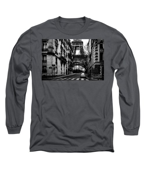 Eiffel Tower - Classic View Long Sleeve T-Shirt