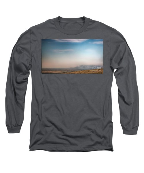 Guadalupe Mountains From A Distance Long Sleeve T-Shirt