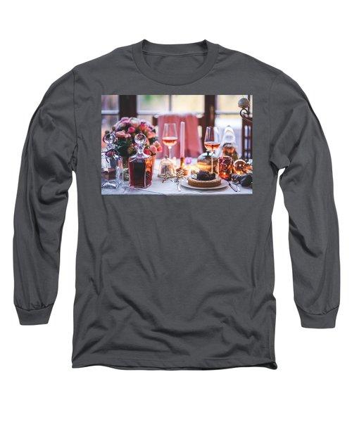 Elegant Tablewear Long Sleeve T-Shirt