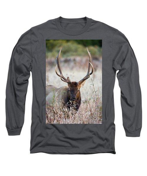 Elk Portrait Long Sleeve T-Shirt