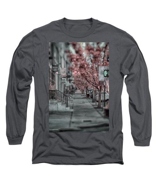 Empty Sidewalk Long Sleeve T-Shirt