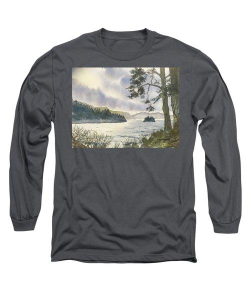 Evening On Derwentwater Long Sleeve T-Shirt