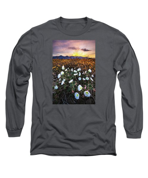 Evening With Primroses Long Sleeve T-Shirt