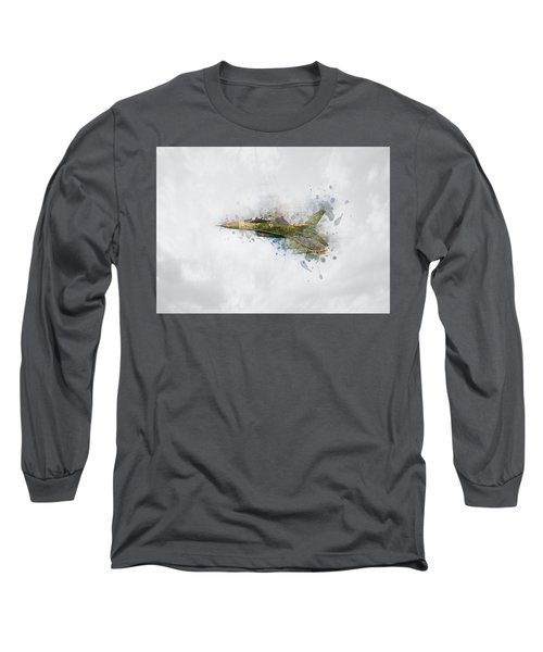 F16 Fighting Falcon Long Sleeve T-Shirt