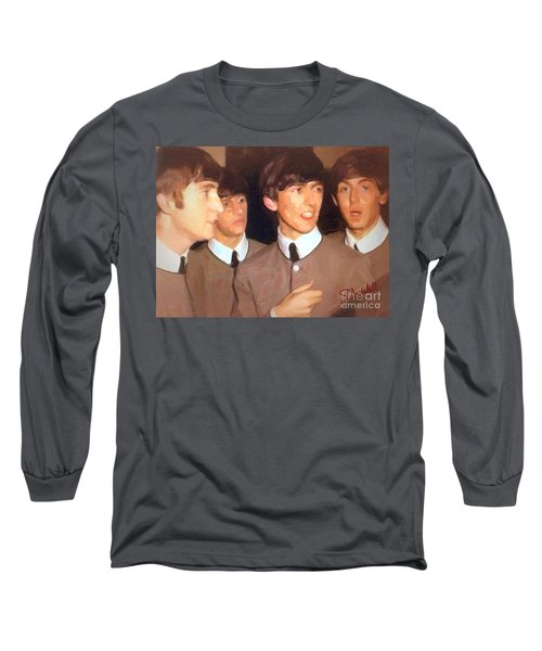 Fab Beatles Long Sleeve T-Shirt