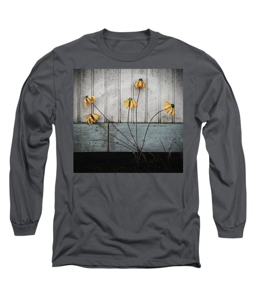Fake Wilted Flowers Long Sleeve T-Shirt