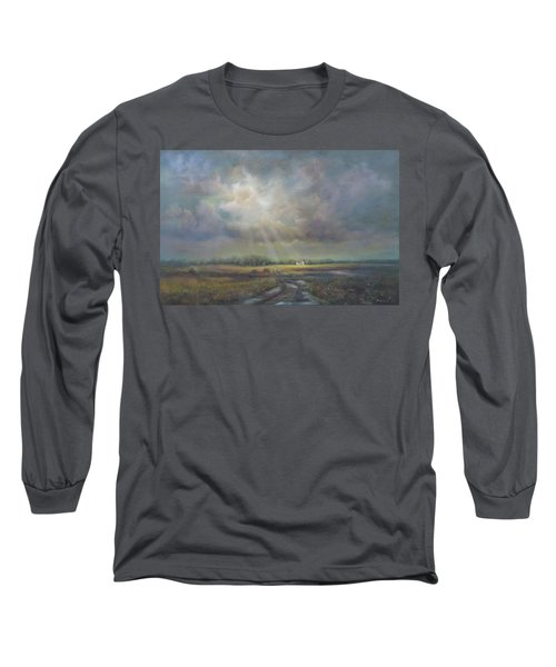 Farm In Spring Long Sleeve T-Shirt