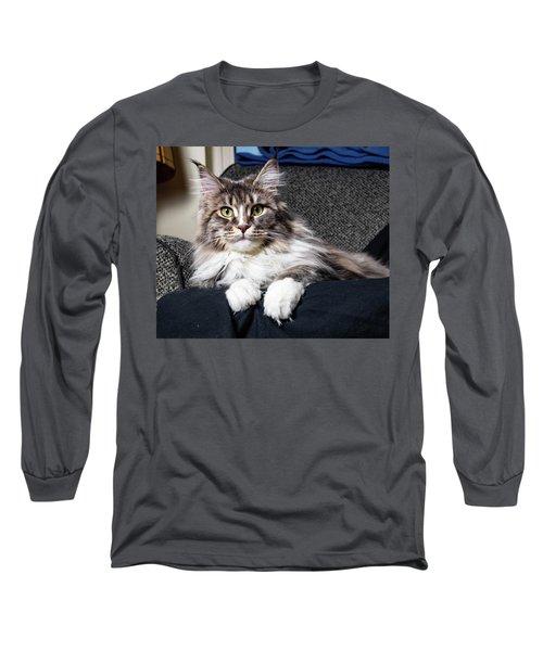 Feline Beauty Long Sleeve T-Shirt