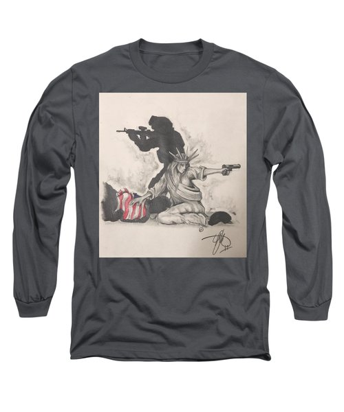 Fighting For Liberty  Long Sleeve T-Shirt