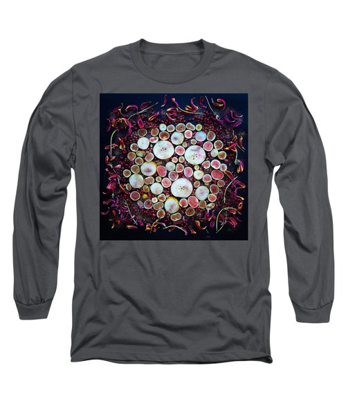 Figs Pears And Pomegranates Long Sleeve T-Shirt