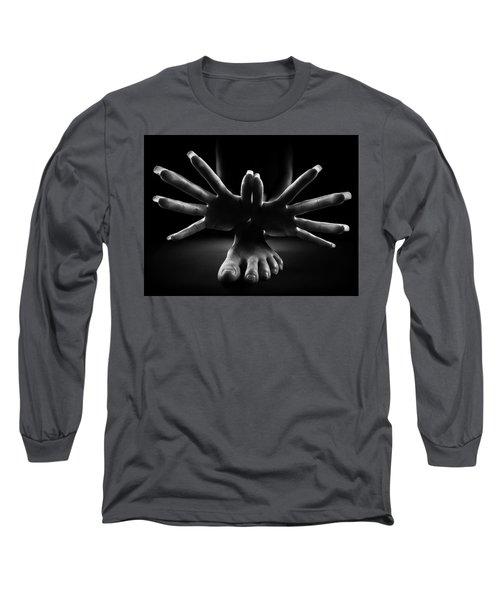 Figurative Body Parts 2 Long Sleeve T-Shirt