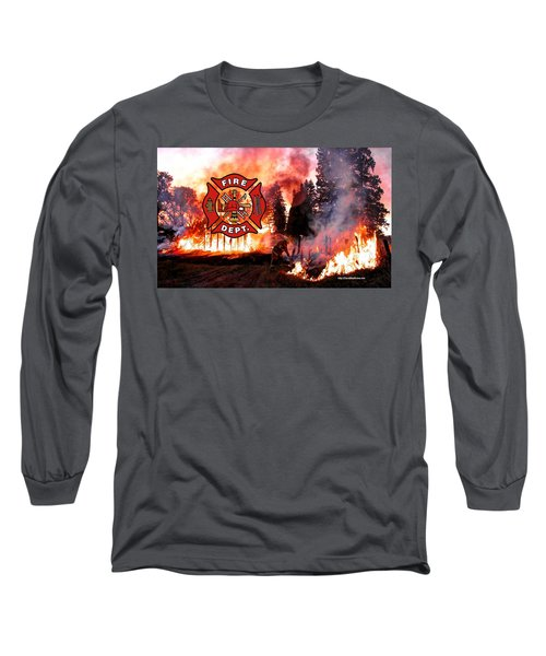 Fire Fighting 3 Long Sleeve T-Shirt