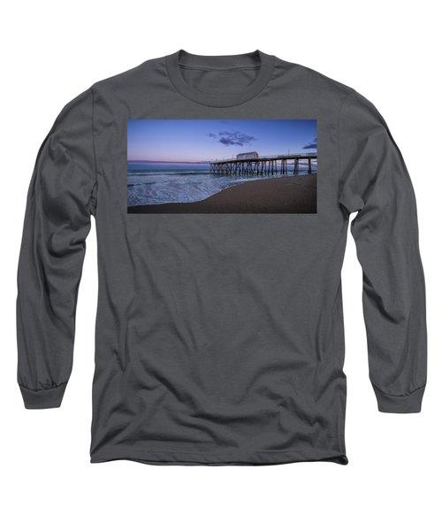 Fishing Pier Sunset Long Sleeve T-Shirt