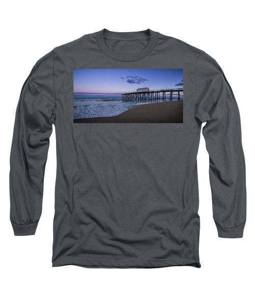Fishing Pier Sunset Long Sleeve T-Shirt