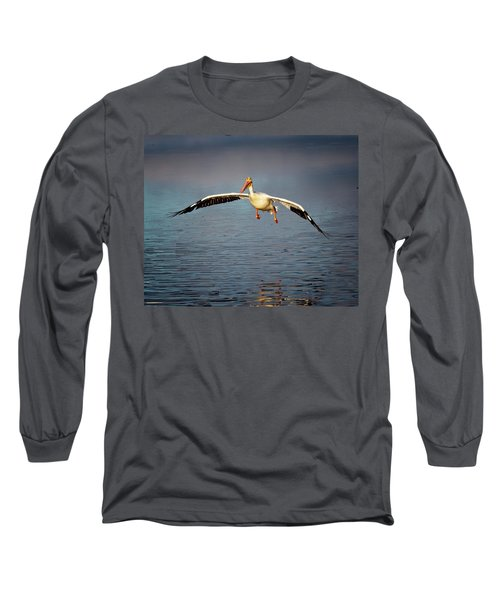 Flaps Down Long Sleeve T-Shirt