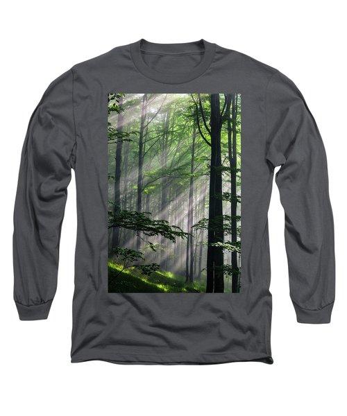 Fleeting Beams Long Sleeve T-Shirt