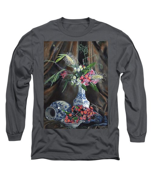 Floral Arrangement Long Sleeve T-Shirt