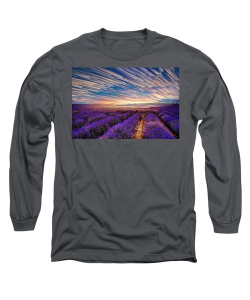 Flower Landscape Long Sleeve T-Shirt