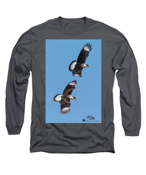 Flying Caracaras Long Sleeve T-Shirt
