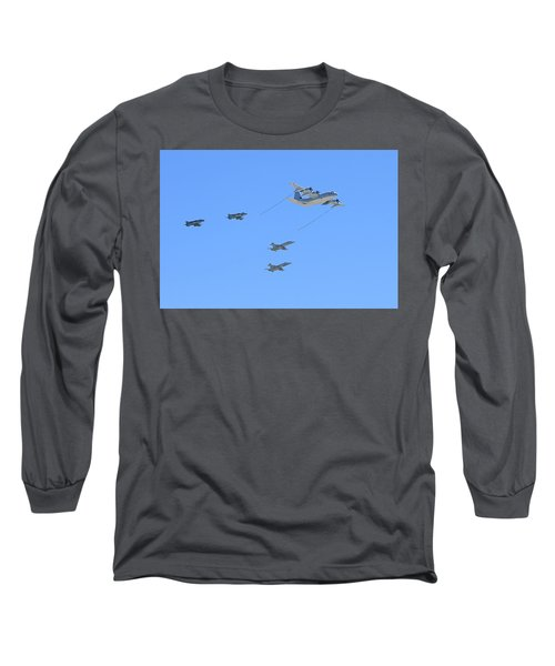 Flying Fuel  Long Sleeve T-Shirt