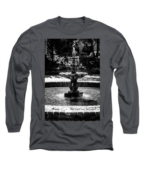 Fountain B W Long Sleeve T-Shirt