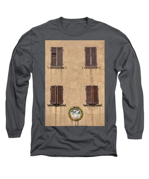 Four Windows Of Florence Long Sleeve T-Shirt