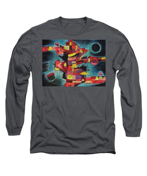 Fractured Fire Long Sleeve T-Shirt