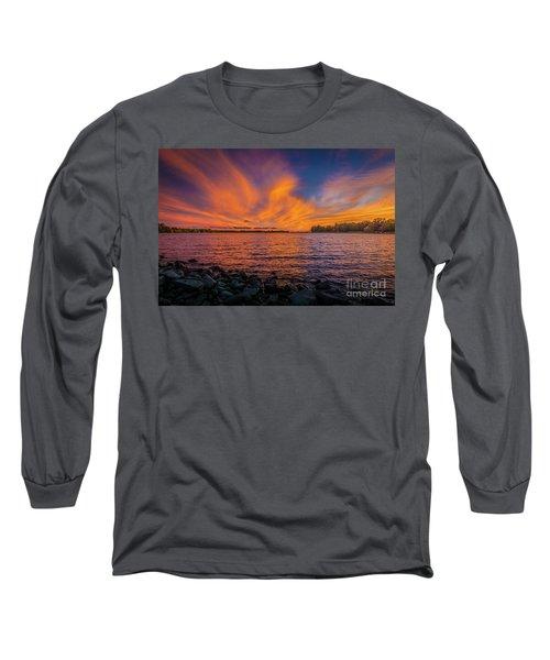 Frontenac Ferry Sunset Long Sleeve T-Shirt