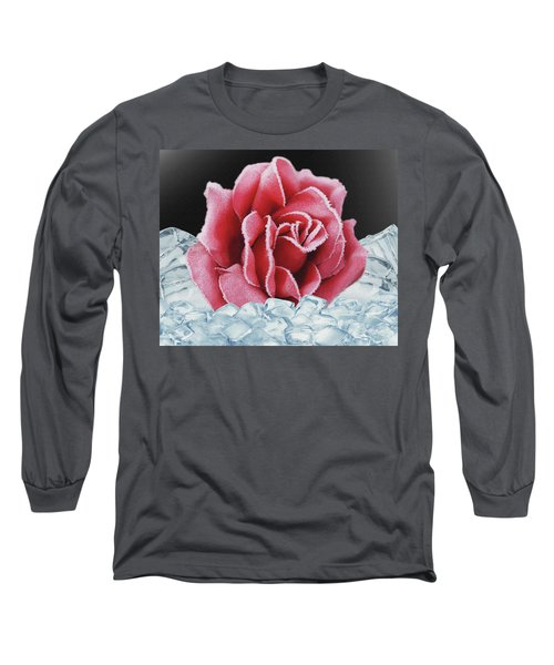 Frozen Rose Long Sleeve T-Shirt