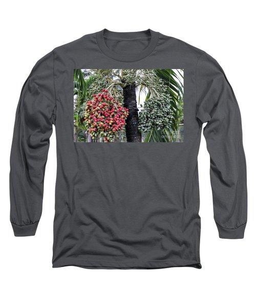 Fruity Palm Tree  Long Sleeve T-Shirt