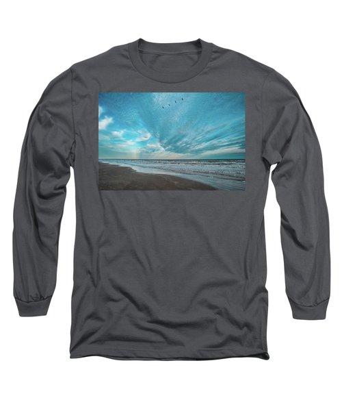Galveston Island First Light Long Sleeve T-Shirt