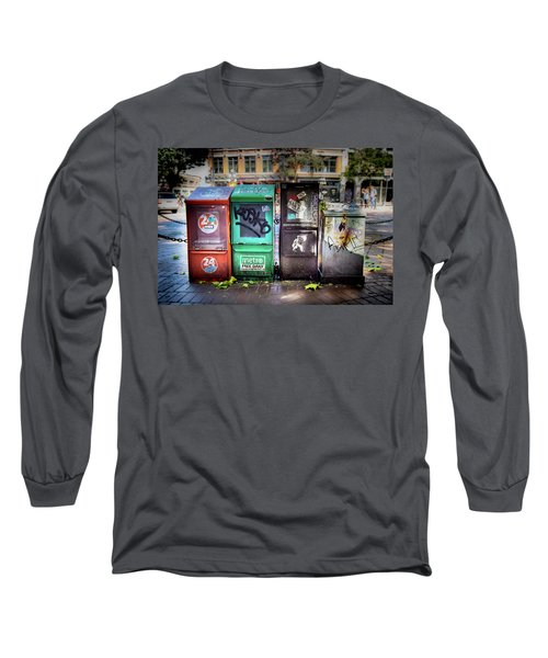 Gastown Street Newsstand Long Sleeve T-Shirt