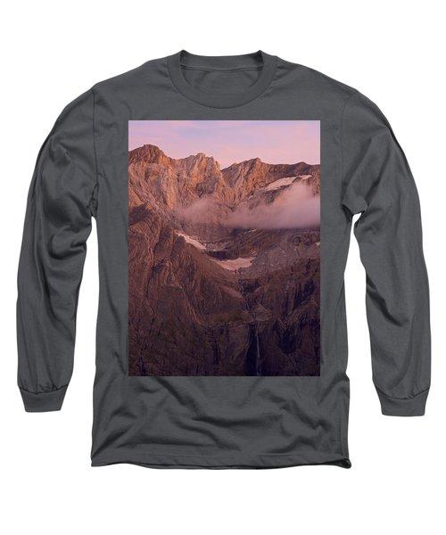 Gavarnie Falls Sunset Long Sleeve T-Shirt