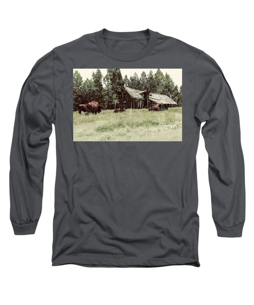 Ghosts Of The Plains Long Sleeve T-Shirt