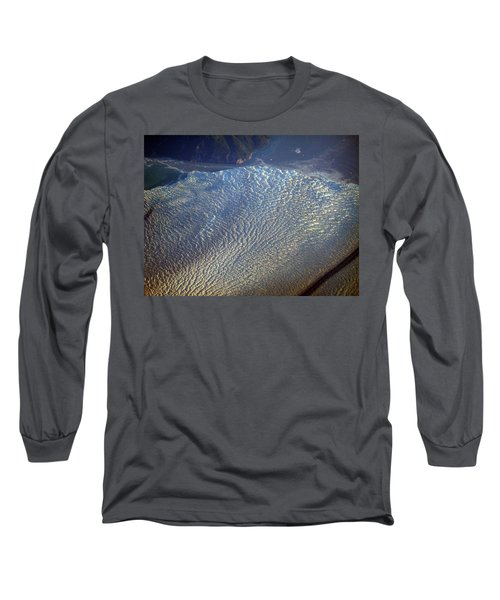 Glacier Texture Long Sleeve T-Shirt