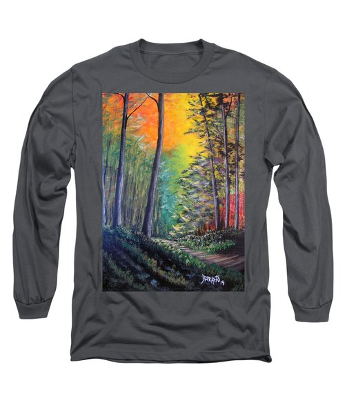 Glowing Forrest Long Sleeve T-Shirt