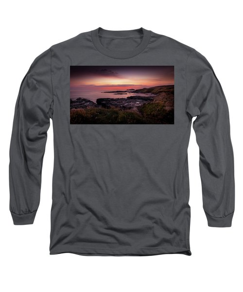 Godrevy Sunset - Cornwall Long Sleeve T-Shirt