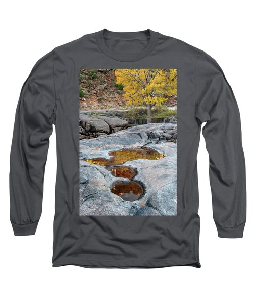 Gold Reflection Long Sleeve T-Shirt