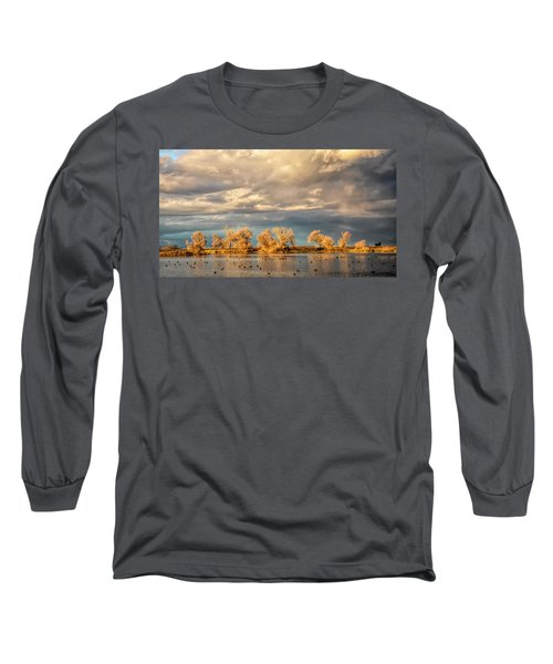 Golden Hour In The Refuge Long Sleeve T-Shirt