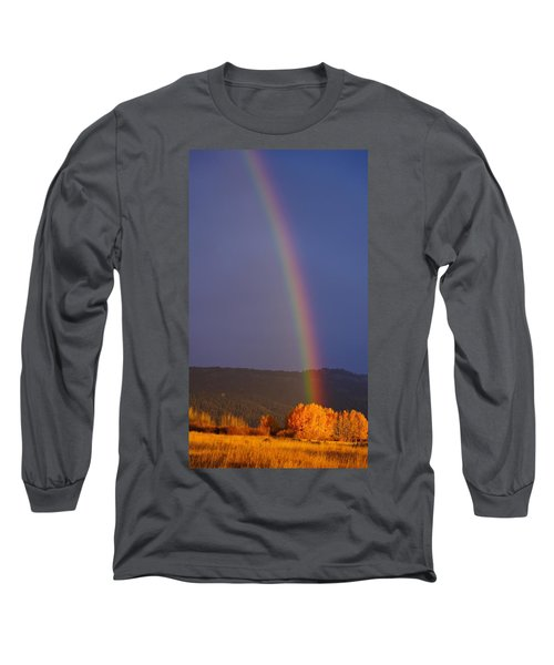 Golden Tree Rainbow Long Sleeve T-Shirt