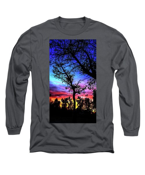 Good Night Leaves In Fall Long Sleeve T-Shirt