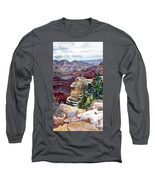 Grand Canyon Winter Day Long Sleeve T-Shirt