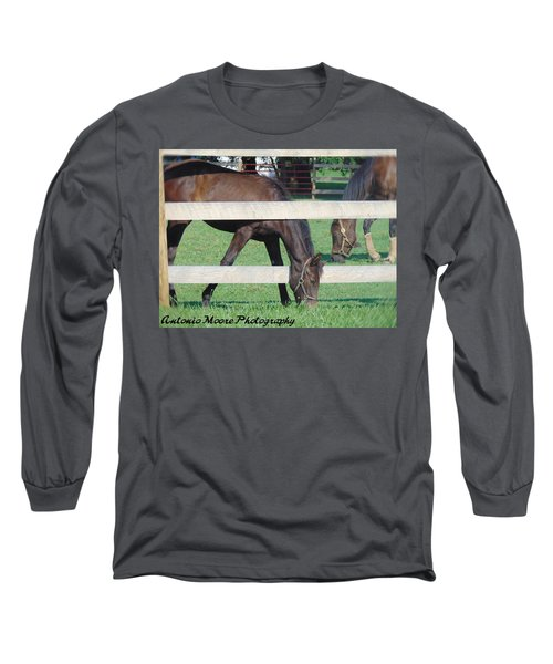 Grazing Beauty Long Sleeve T-Shirt
